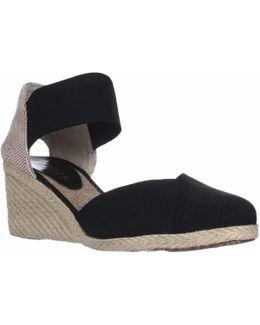 Lauren Ralph Lauren Charla Closed-toe Espadrille Wedge Sandals