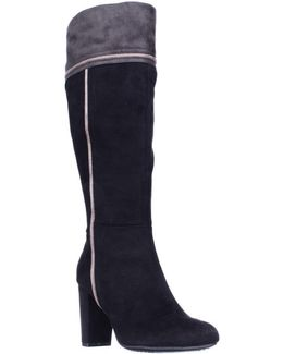 Cordelia Fashion Knee High Dress Boots