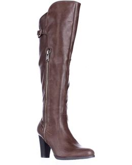 Violet Over The Knee Fashion Boots