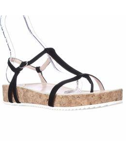 Amore T-strap Platform Sandals