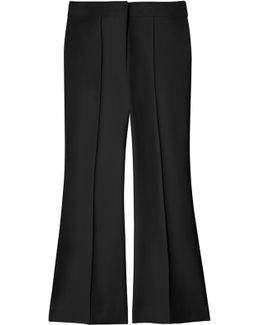 Ponte Cropped Boot Cut Pant