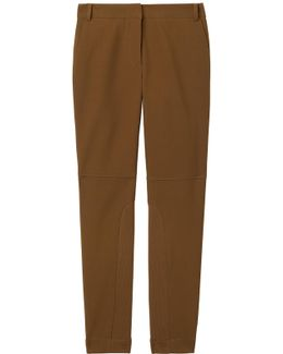 Anson Stretch Low Rise Skinny Pant With Rib Insert