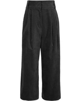 Moleskin Bianca Cropped Pants