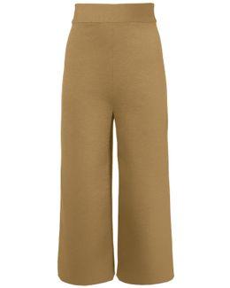 Bond Stretch Knit High Waisted Pants