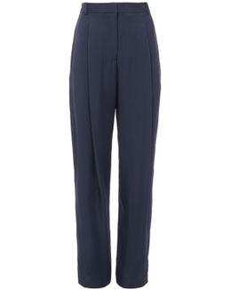 Viscose Suiting Sculpted Pants