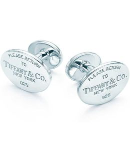 Cuff Links In Sterling Silver