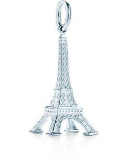 Eiffel Tower Charm In Sterling Silver
