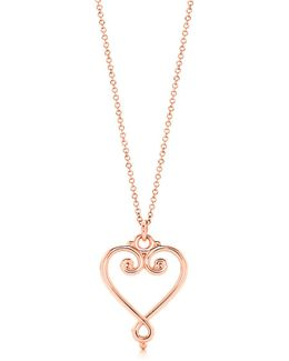 Goldoni Heart Pendant