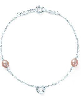 Pearls By The Yardtm Open Heart Bracelet