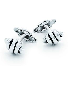 Knot Hinged Cuff Links