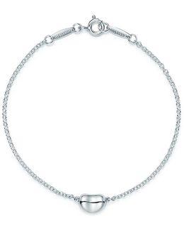 Elsa Peretti. Bean Bracelet In Sterling Silver