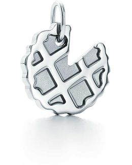 Sugar Pie Charm In Sterling Silver