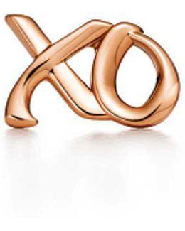 Love & Kisses Single Earring In 18k Rose Gold