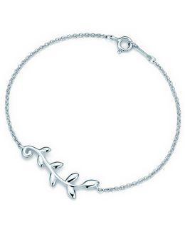 Olive Leaf Vine Bracelet