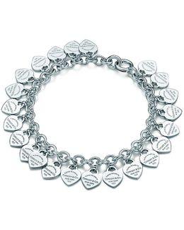 Multi–heart Tag Bracelet