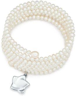 Six-row Pearl Bracelet