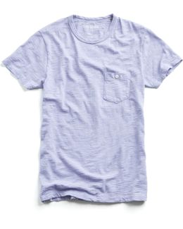 Classic Pocket Tee In Lavender
