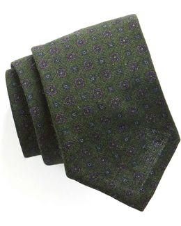 Foulard Silk Wool Tie