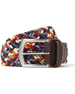 Multi Color Woven Belt