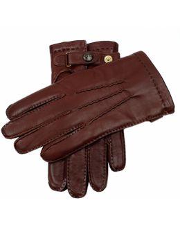 Dents Hatfield Brown Leather Gloves