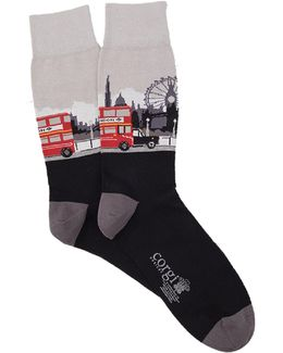 London Scene Sock