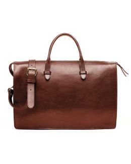 Triumph Briefcase In Chestnut