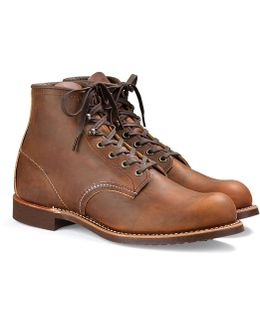 Red Wing Blacksmith Boot In Rough & Tough Leather In Copper