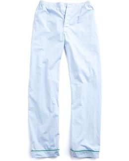 Marcel Pajama Pant In Blue