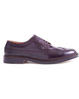 Longwing Brown Cordovan Shoe