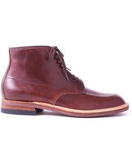 Indy Boot In Brown Calfskin Leather