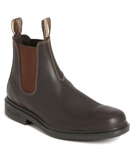 Boot In Stout Brown Leather