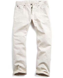 Made In L.a Selvedge Birch Rinse Jean