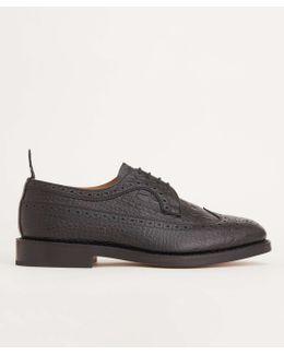 Limited Edition Moc Croc Leather Brogue Shoe