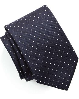 Drake's Silk Dot Tie