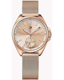Rose Gold Plated Watch