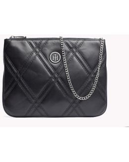 Quilted Flat Crossover Bag
