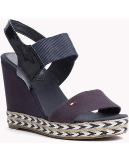 Leather Mix Wedges