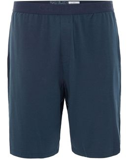 Carbon Blue Loungewear Shorts
