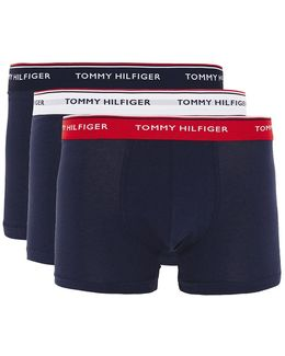 Assorted Colour Boxer Shorts 3 Pack