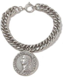 Silver Coin Bracelet*