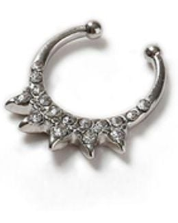 Spike Septum Fake Nose Ring*