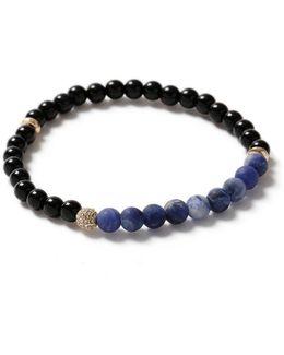 Blue Bead Bracelet*