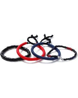 Red And Blue Bracelet Pack