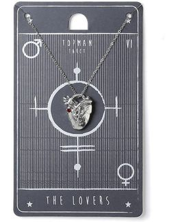 The Lovers Tarot Necklace*
