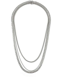 Silver Mixed Chain*