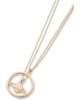 Gold Orbit Necklace