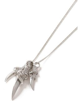 Silver Claw Necklace*