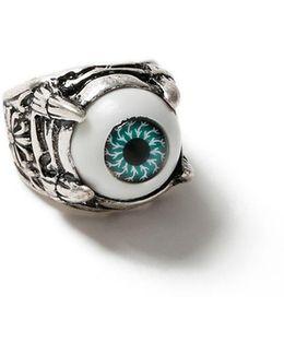 Silver Eye Ring*