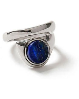 Blue Split Ring