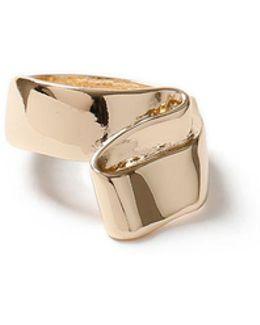 Gold Sculptural Ring